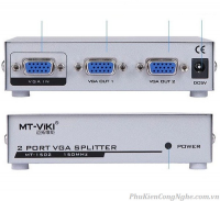 Bộ chia VGA 1 ra 2 cổng chính hãng MT-Viki