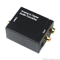 Bộ chuyển đổi Audio âm thanh sang Quang Optical (AV to Quang)