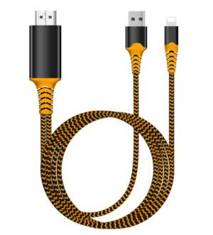 Cáp HDMI cho Iphone, Ipad hỗ trợ 4K thế hệ mới