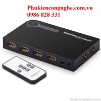 Bộ gộp HDMI 5 vào 1 ra hỗ trợ 3D full HD 4K chính hãng Ugreen UG-40205
