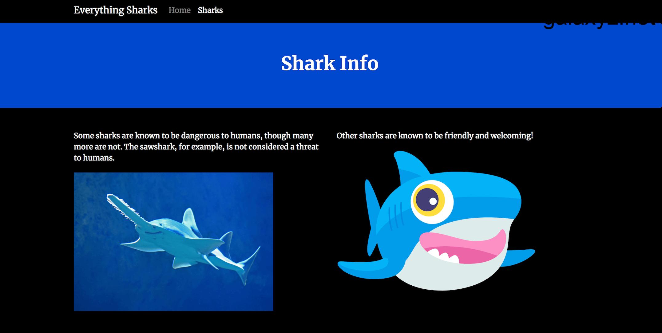 Trang thông tin cá mập