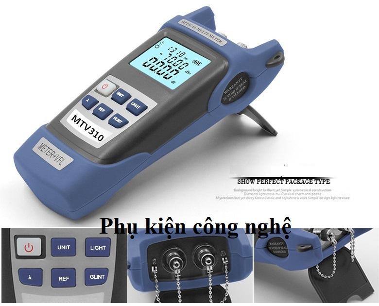 Máy đo công suất Quang tích hợp Bút soi Quang 5Km MTV310