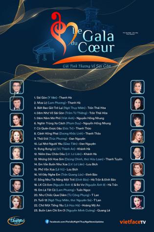 Thúy Nga 2021 - Le Gala Du Coeur - Gửi Tình Thương Về Sài Gòn