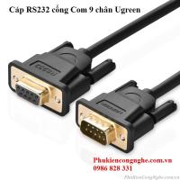 Cáp RS232 cổng Com 9 chân 1.5m âm dương chính hãng Ugreen 20145
