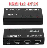 Bộ chia HDMI 1 ra 2 Full HD 1080 hỗ trợ 3D